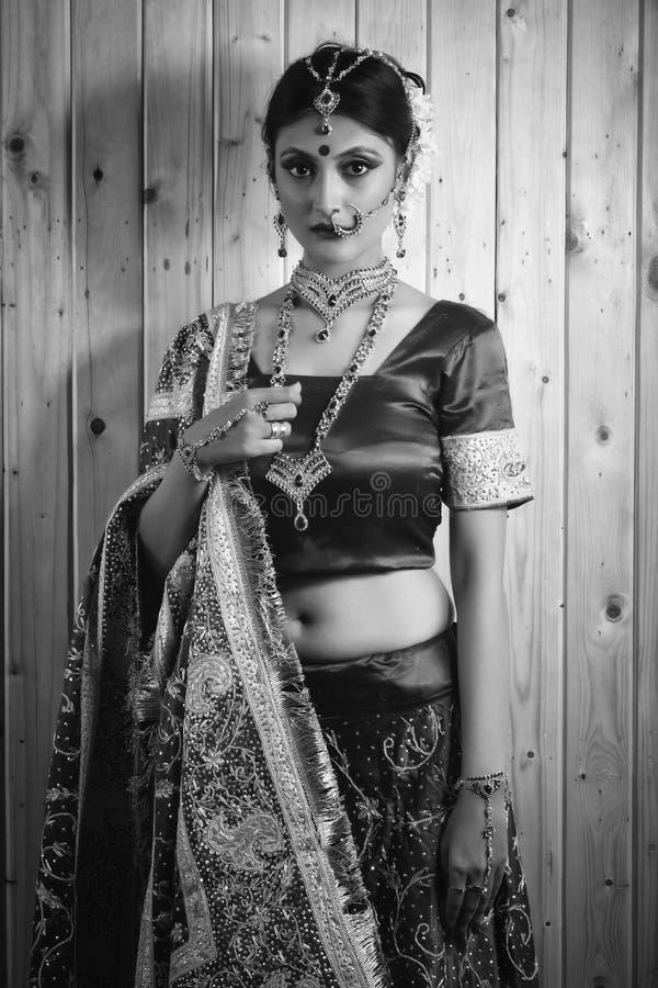 Portret van bruid royalty-vrije stock afbeelding