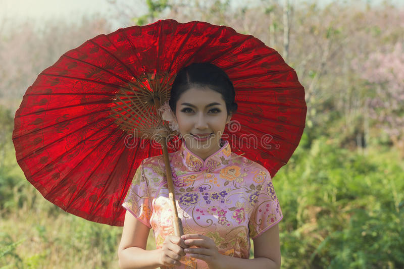portret van Chinees royalty-vrije stock afbeeldingen