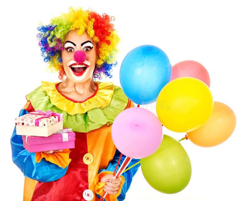 Portret van clown. royalty-vrije stock foto's