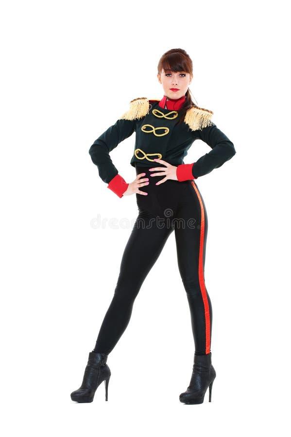 Portret van clubdanser stock fotografie