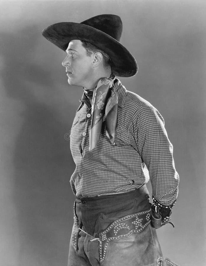 Portret van cowboy royalty-vrije stock afbeeldingen