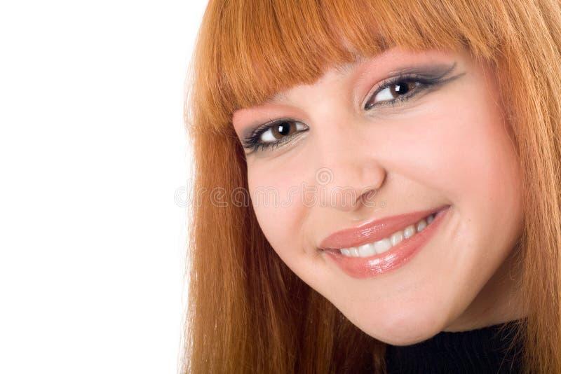Portret van de aantrekkelijke jonge vrouw royalty-vrije stock foto's