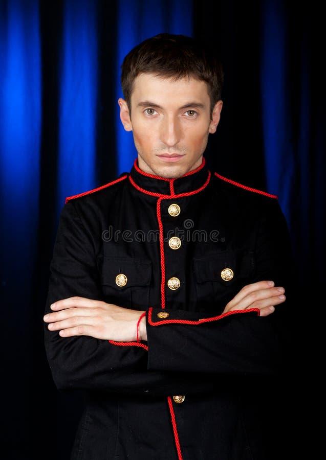 Portret van de jonge man stock afbeeldingen