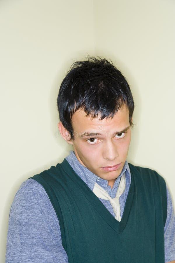 Portret van de jonge mens royalty-vrije stock foto's
