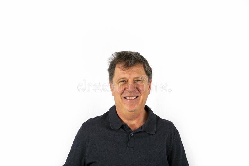 Portret van de knappe mens royalty-vrije stock foto's