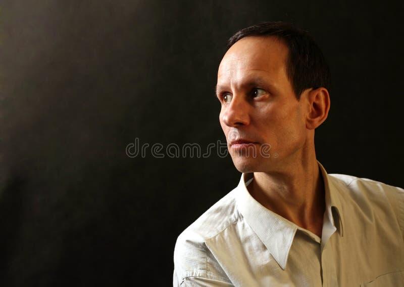 Portret van de man stock foto