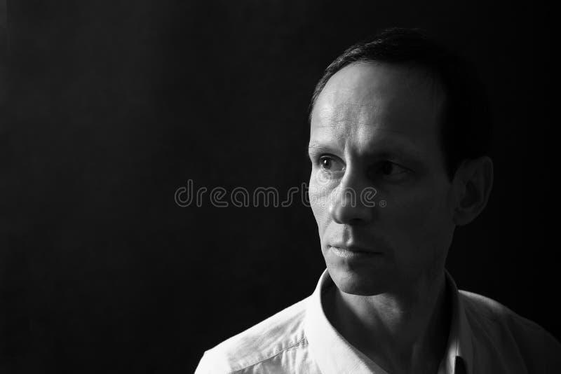 Portret van de man royalty-vrije stock afbeelding
