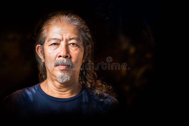 Portret van de oude mens royalty-vrije stock foto's