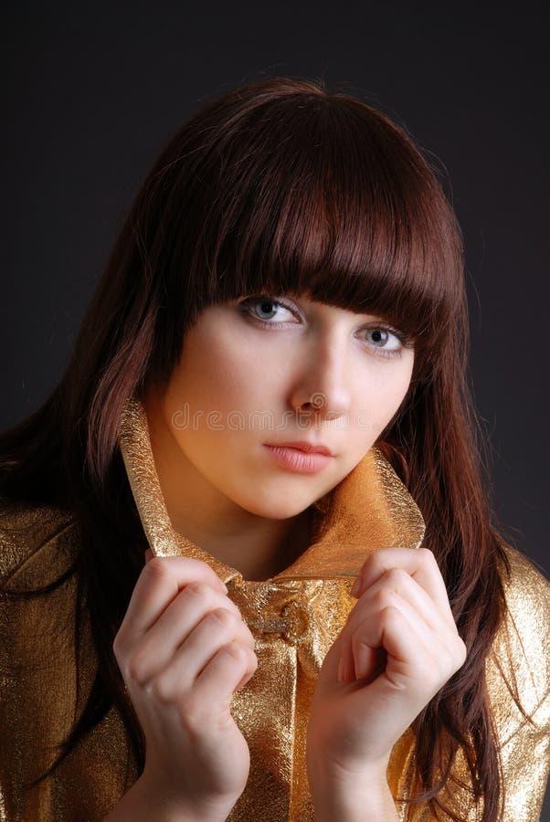 Portret van de tiener stock foto