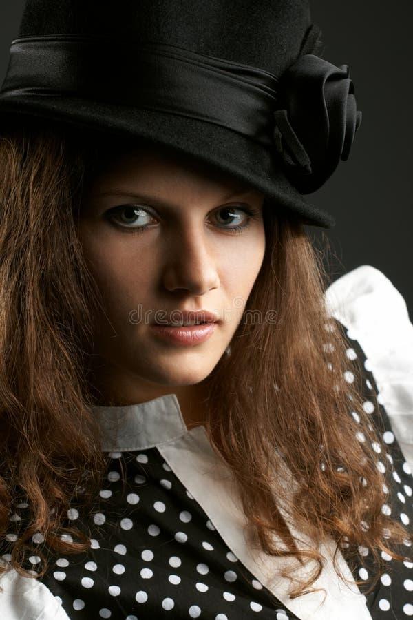 Portret van de vrouw royalty-vrije stock foto