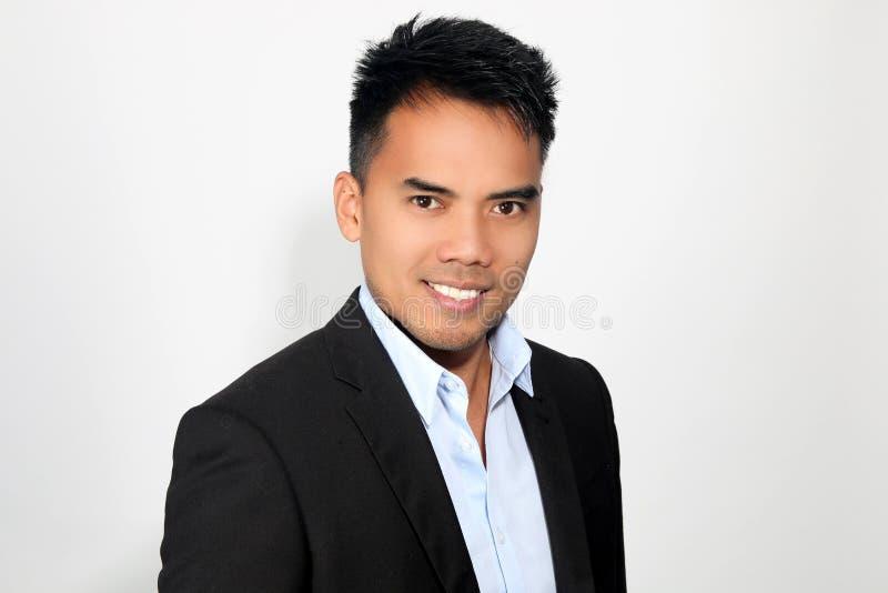 Portret van een aantrekkelijke Filipijner stock foto's