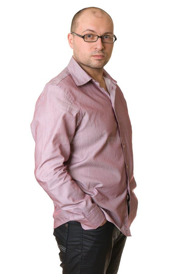 Portret van een aantrekkelijke mens stock foto's