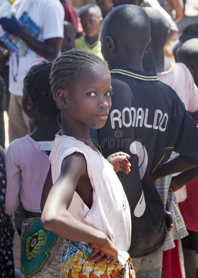 Portret van een Afrikaans kind royalty-vrije stock fotografie