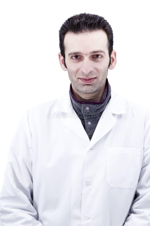 Portret van een artsenclose-up stock afbeelding