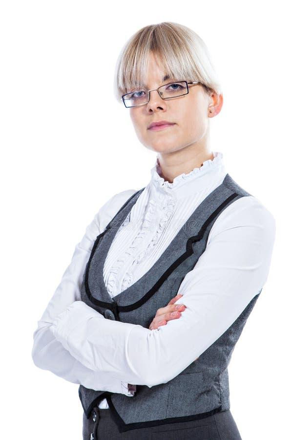 Download Portret Van Een Bedrijfsvrouw Stock Foto - Afbeelding bestaande uit wijfje, portret: 29500288