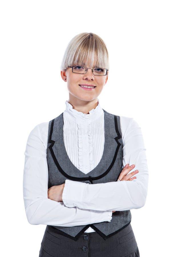 Download Portret Van Een Bedrijfsvrouw Stock Foto - Afbeelding bestaande uit vrouw, kaukasisch: 29500312