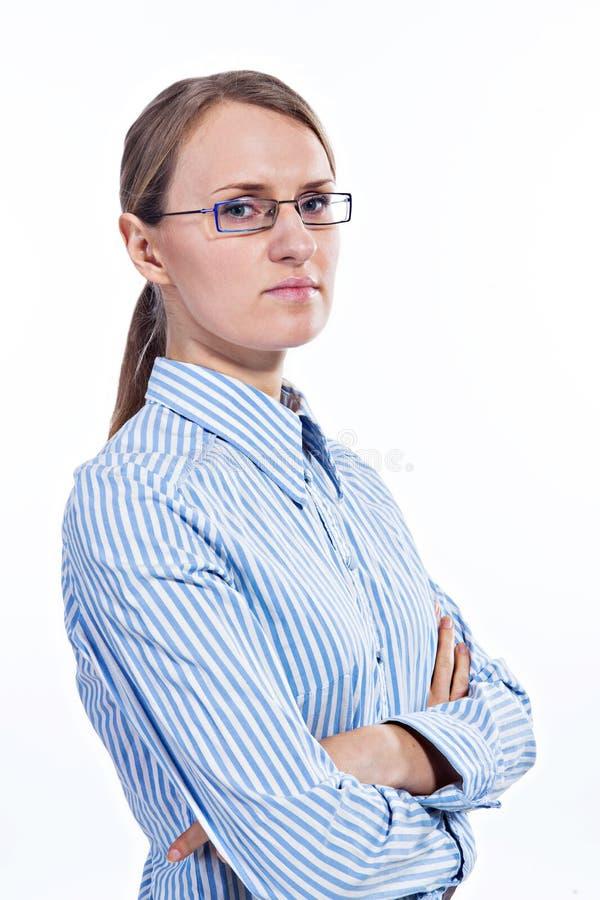 Download Portret Van Een Bedrijfsvrouw Stock Foto - Afbeelding bestaande uit jong, zaken: 29501002