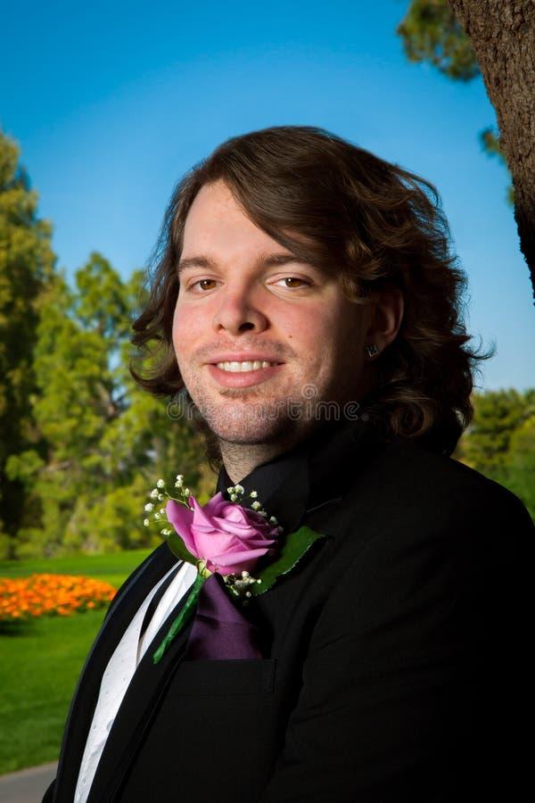 Portret van een Bruidegom royalty-vrije stock afbeeldingen