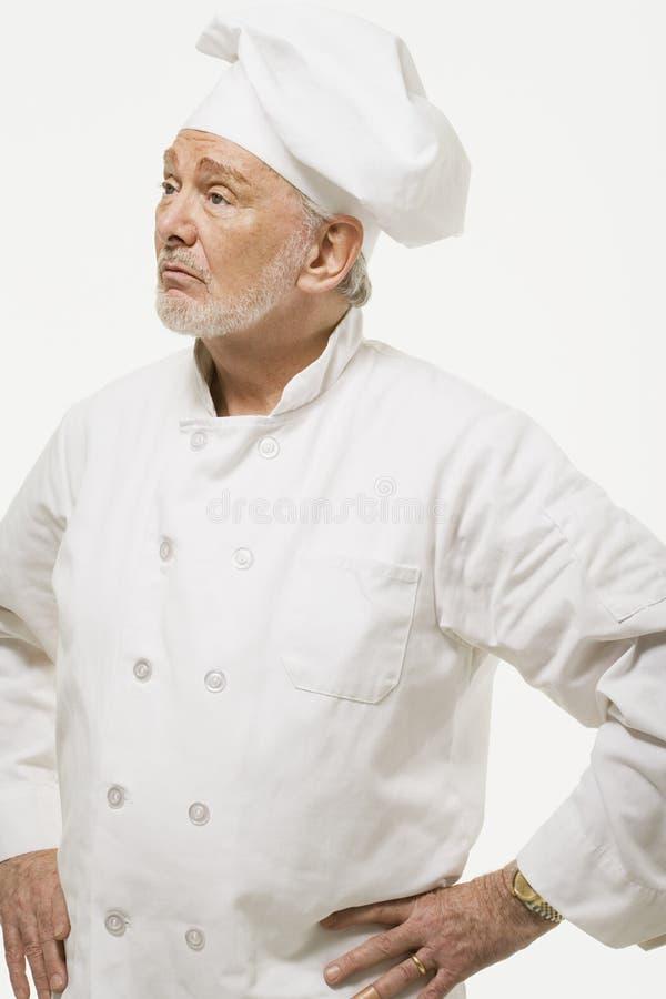 Portret van een chef-kok royalty-vrije stock foto