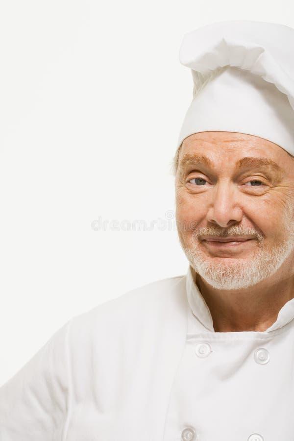 Portret van een chef-kok royalty-vrije stock afbeelding