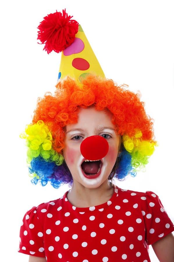 Portret van een clown royalty-vrije stock afbeeldingen