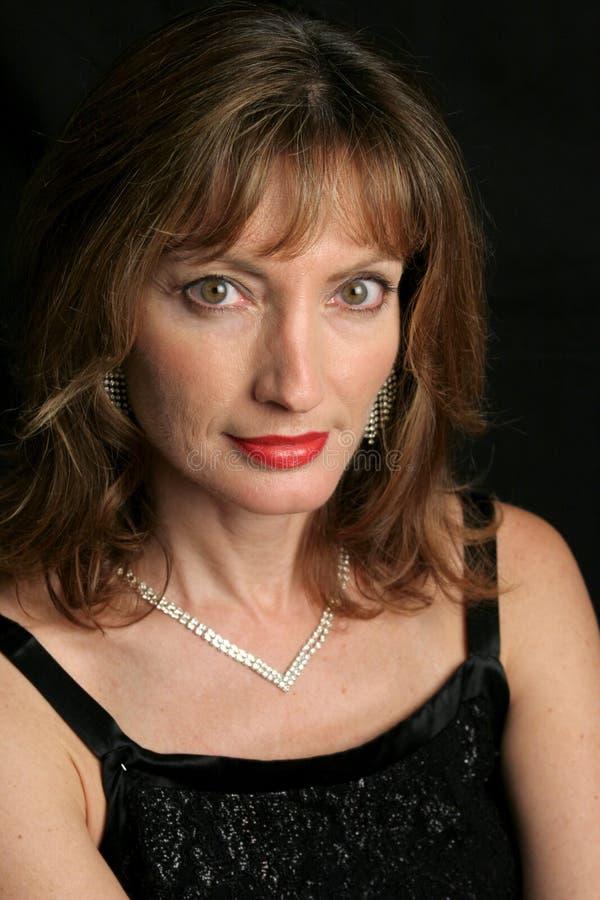 Portret van een Dame stock fotografie