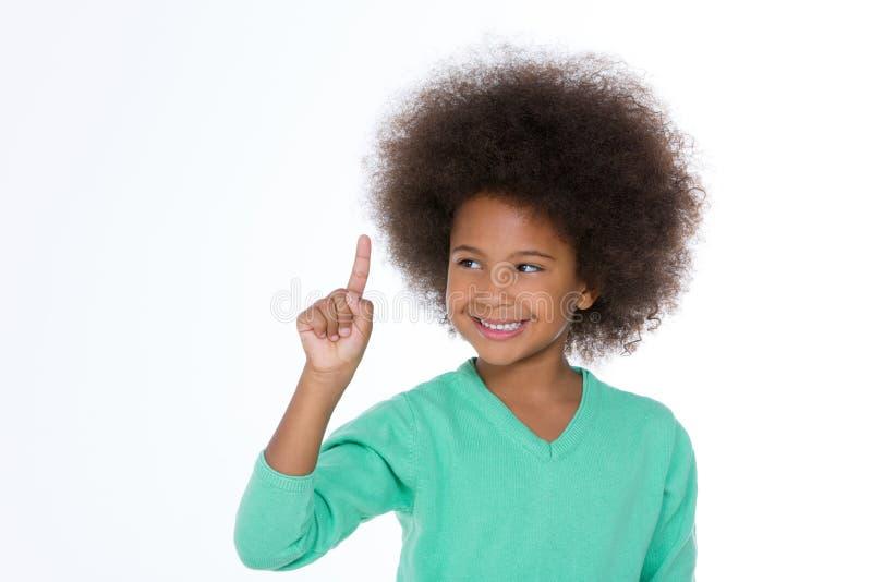 Portret van een Glimlachend Kind royalty-vrije stock afbeelding