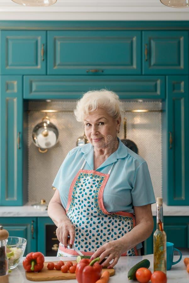 Portret van een grootmoeder royalty-vrije stock fotografie
