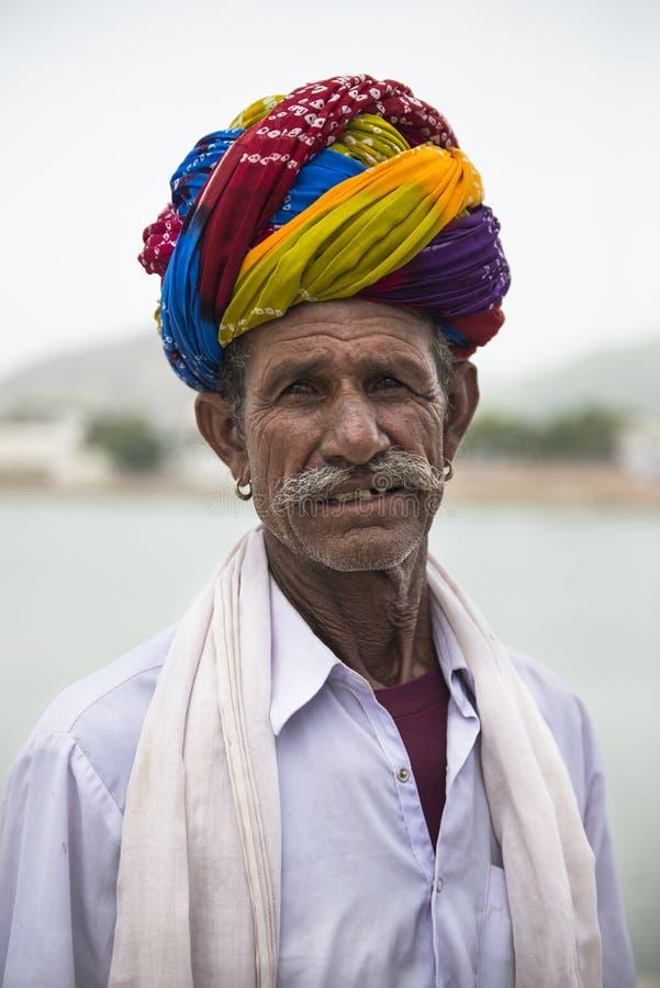 Portret van een Indische mens royalty-vrije stock afbeelding
