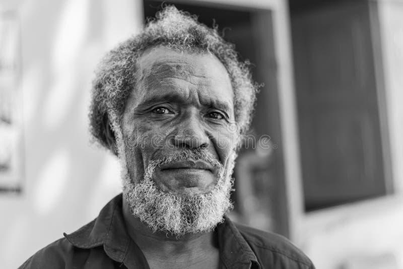 Portret van een inwoner Van Oost-Timor royalty-vrije stock fotografie