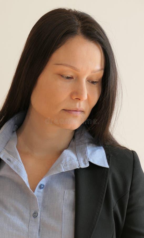 Portret van een Japanse zakenvrouw royalty-vrije stock afbeeldingen