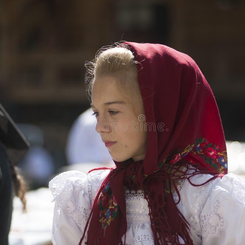 Portret van een Jong Meisje stock afbeeldingen