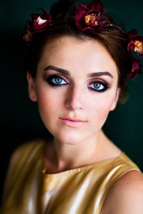 Portret van een Jong Meisje stock fotografie