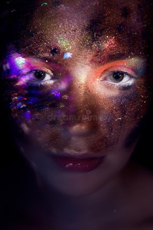 Portret van een Jong Meisje stock foto's