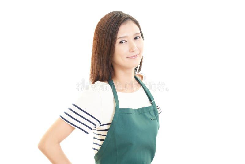Portret van een jonge Aziatische vrouw stock fotografie