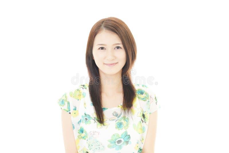 Portret van een jonge Aziatische vrouw stock foto's