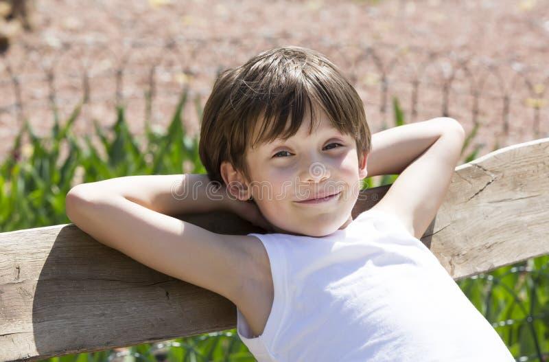 Portret van een jongen royalty-vrije stock foto's