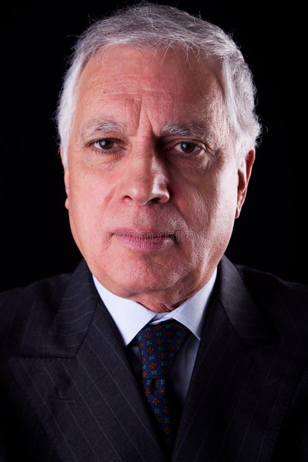 Portret van een knappe rijpe zakenman royalty-vrije stock foto's