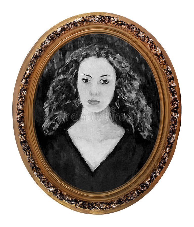 Portret van een meisje stock foto's