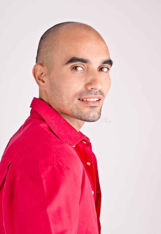 Portret van een mens. stock afbeelding