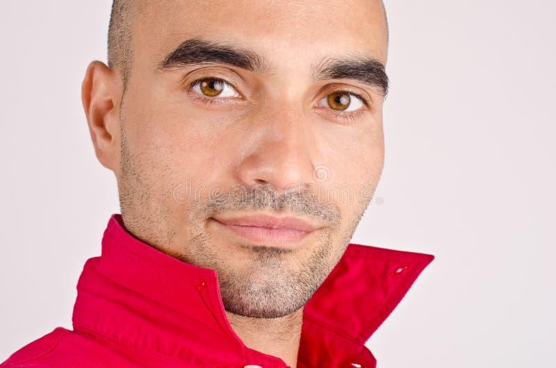 Portret van een mens. royalty-vrije stock foto