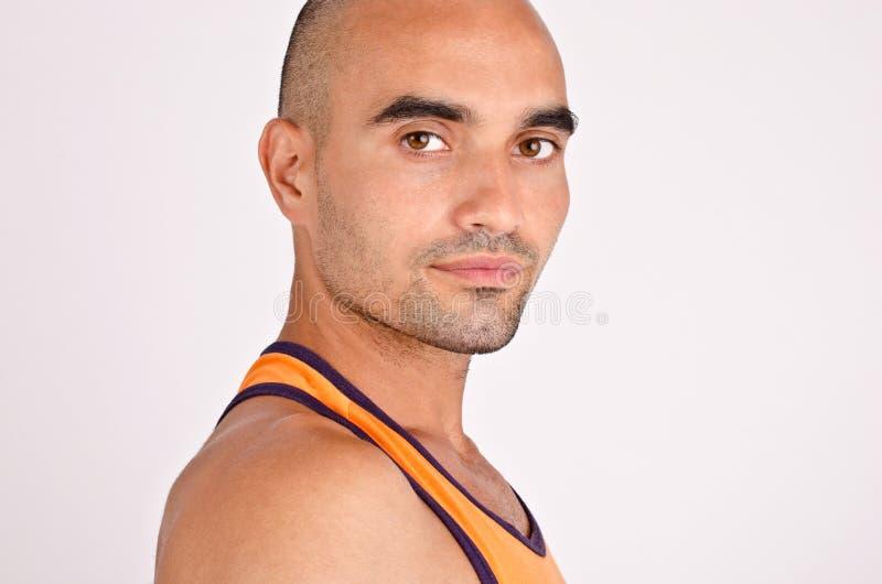 Portret van een mens. stock foto