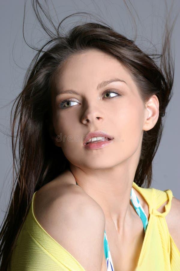 Portret van een mooi sexy meisje. stock foto's