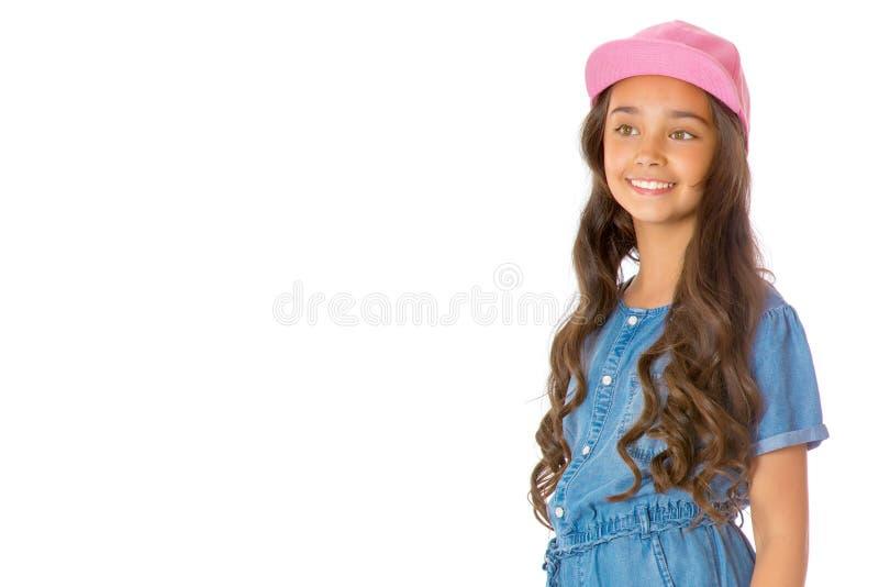Portret van een mooie Aziatische tiener stock foto