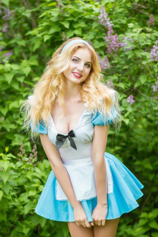 Portret van een Mooie jonge blonde royalty-vrije stock foto