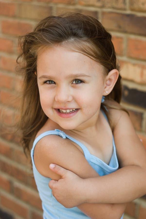 Portret van een Sassy Meisje stock fotografie
