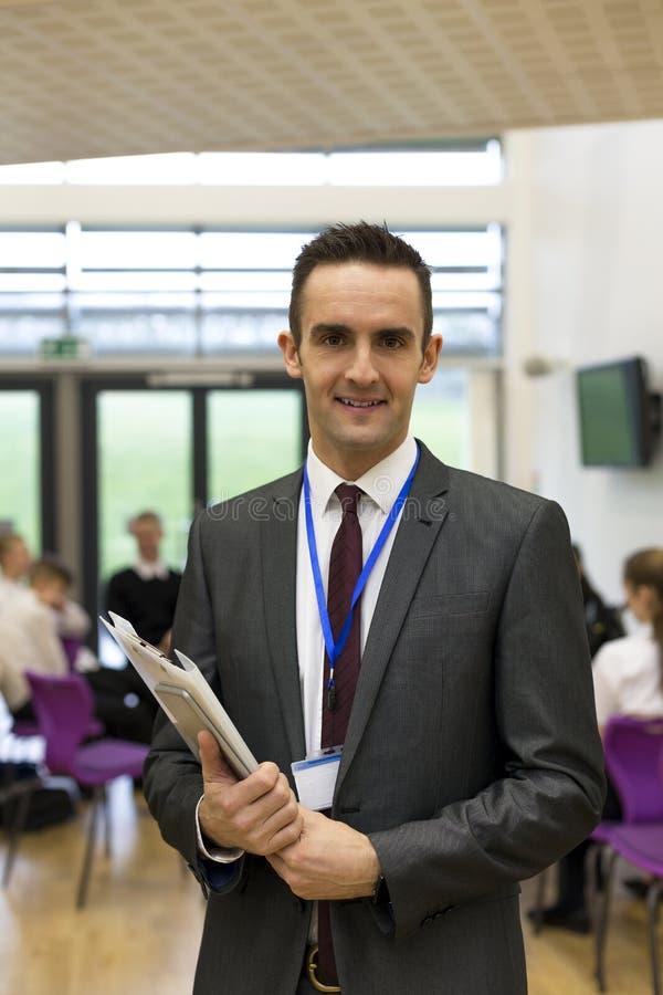 Portret van een schoolleraar royalty-vrije stock foto