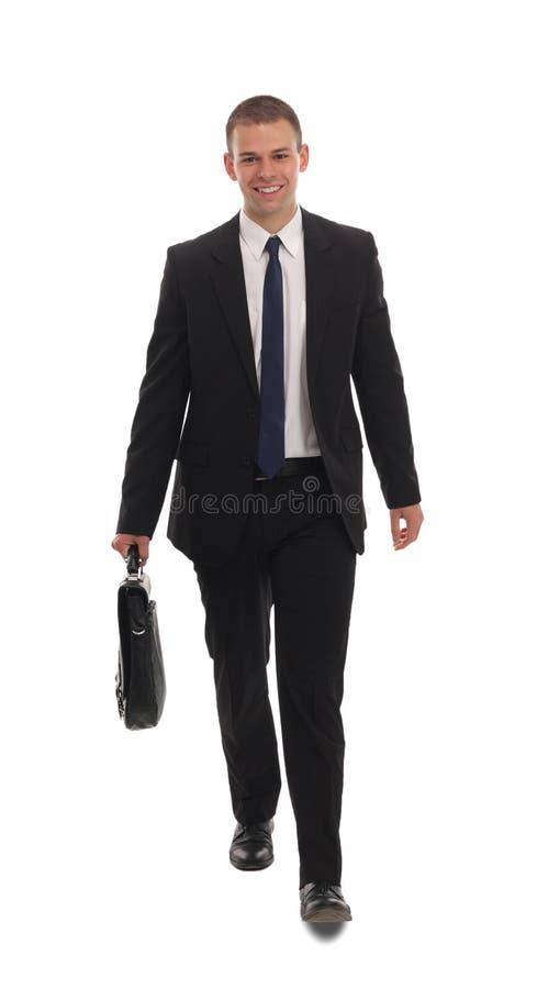Portret van een slimme bedrijfsmens royalty-vrije stock foto's