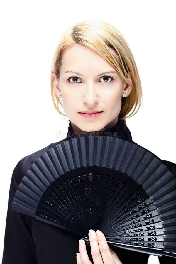 Portret van een succesvolle vrouw royalty-vrije stock fotografie