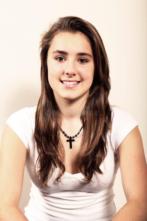 Portret van een tiener royalty-vrije stock foto